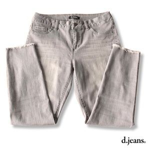 Grey high waisted d. jeans | Size 8